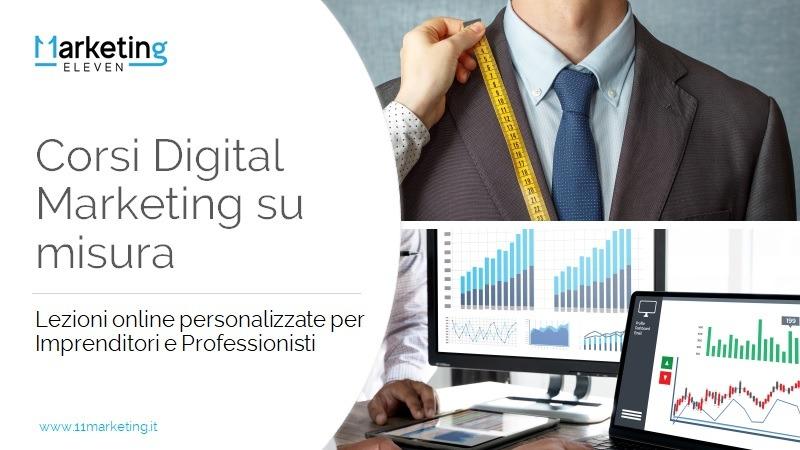 Corso Digital Marketing one to one