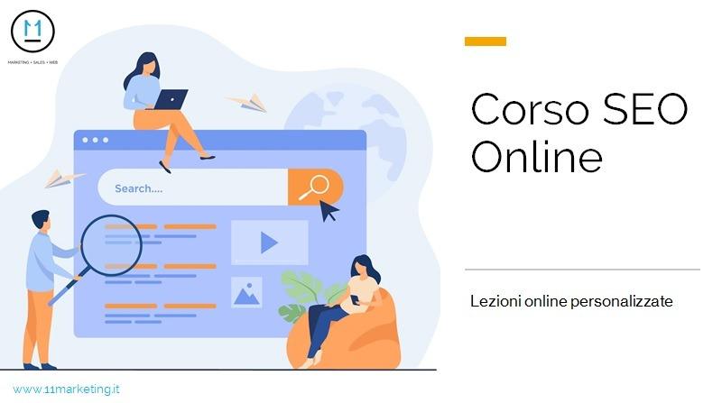 Corsi SEO Online individuali
