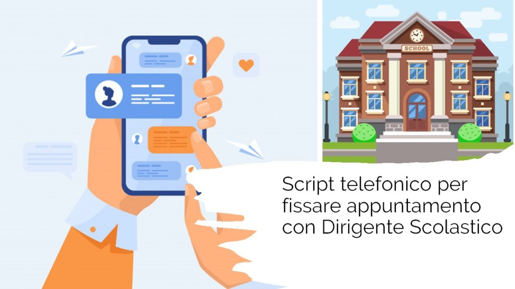 Script telemarketing per appuntamento scuole secondarie