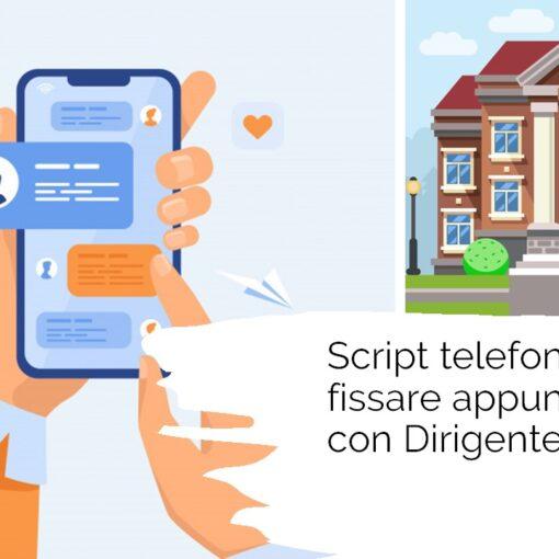 Script telemarketing per appuntamento scuole secondarie