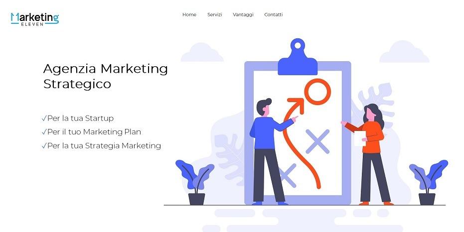 siti html5 esempi, agenzia marketing