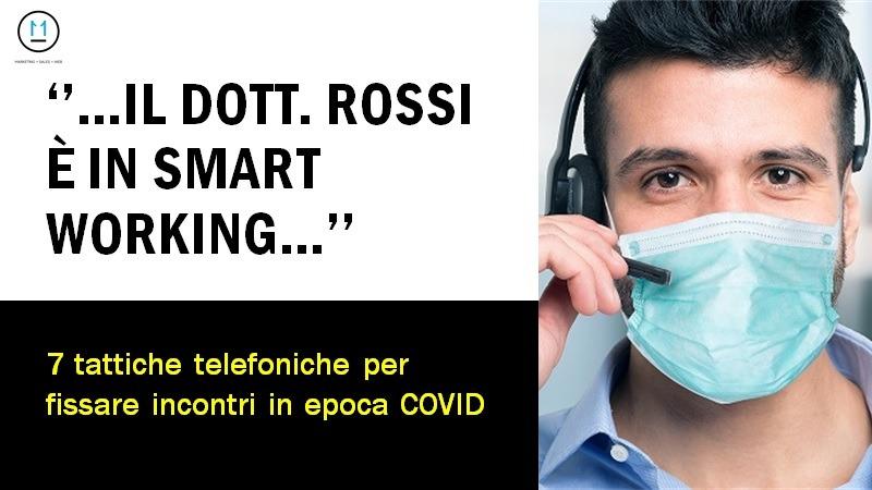 Appuntamenti in azienda durante il Coronavirus, tattiche e consigli telefonici