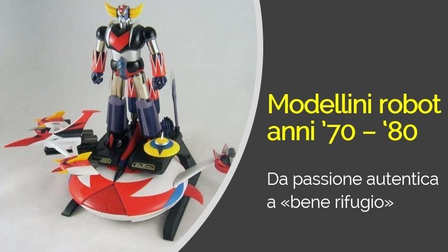 Modellini robot anni 80 bene rifugio