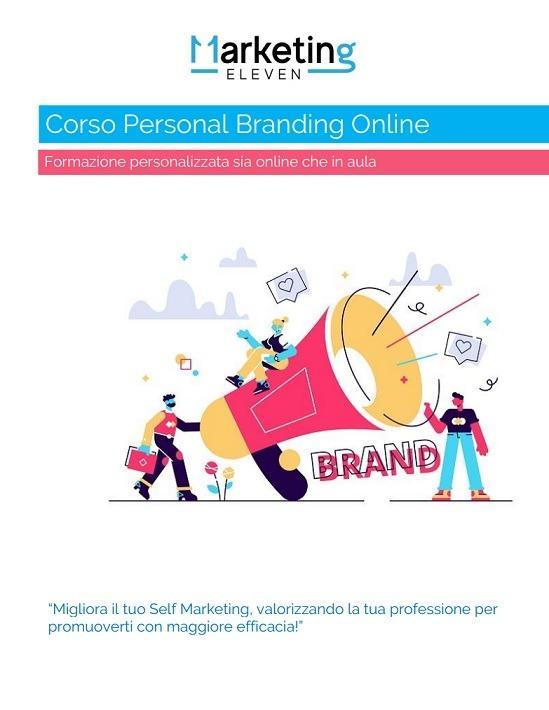 Corso Personal Branding Online PDF, Corso Self Marketing Roma
