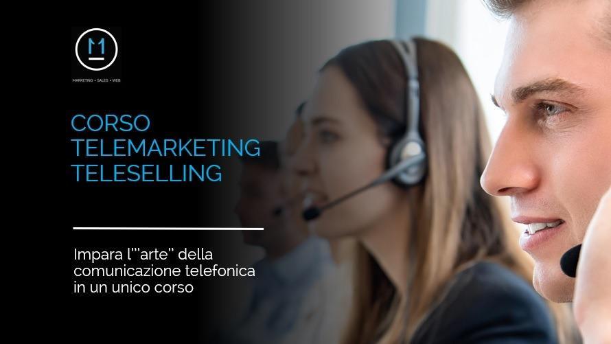 Corso Telemarketing Teleselling, formazione tecniche di vendita telefonica